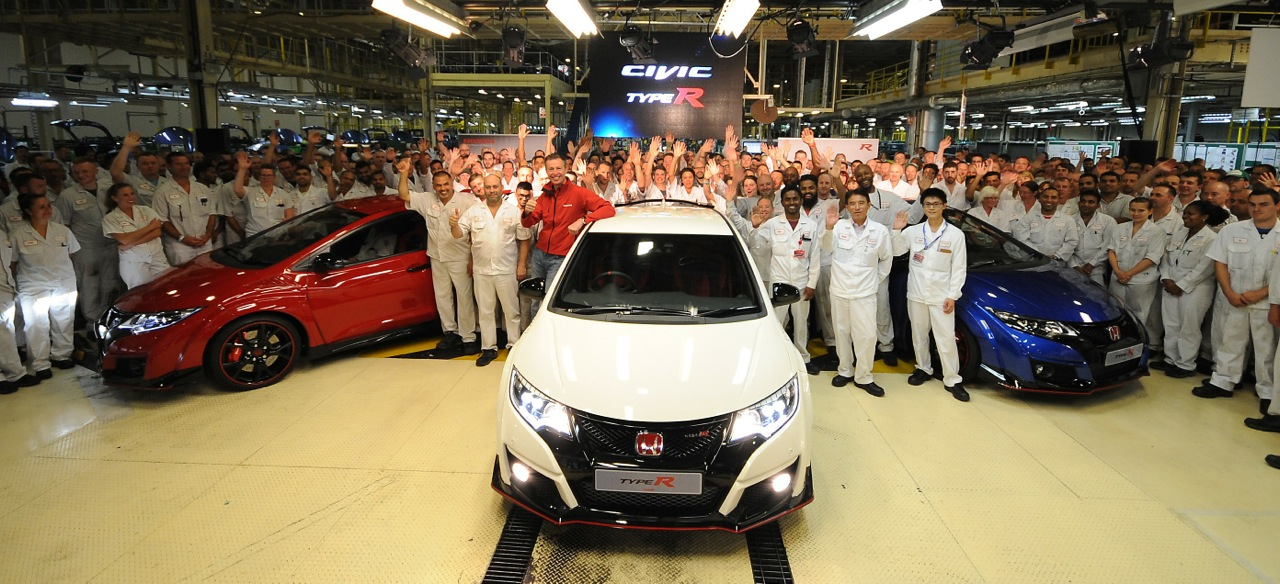 2015 Honda Civic Type R Line-Off Event