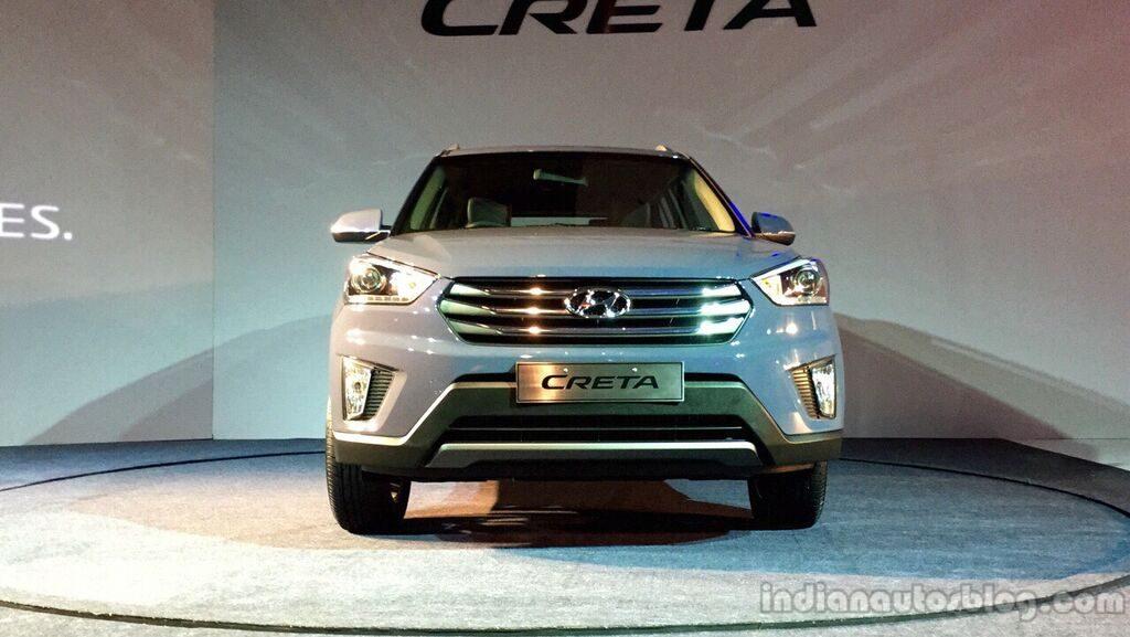 Hyundai Creta front launch live