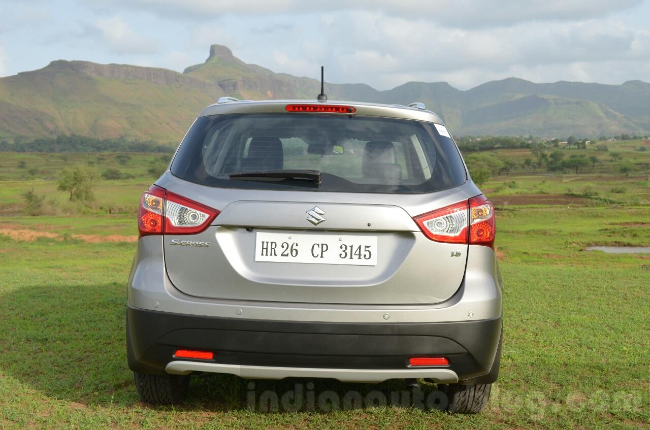 Maruti S-Cross rear Review