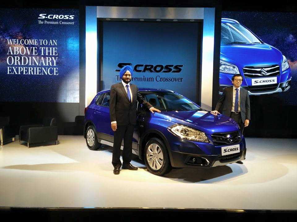 Maruti S-Cross unveiled in India at media drive