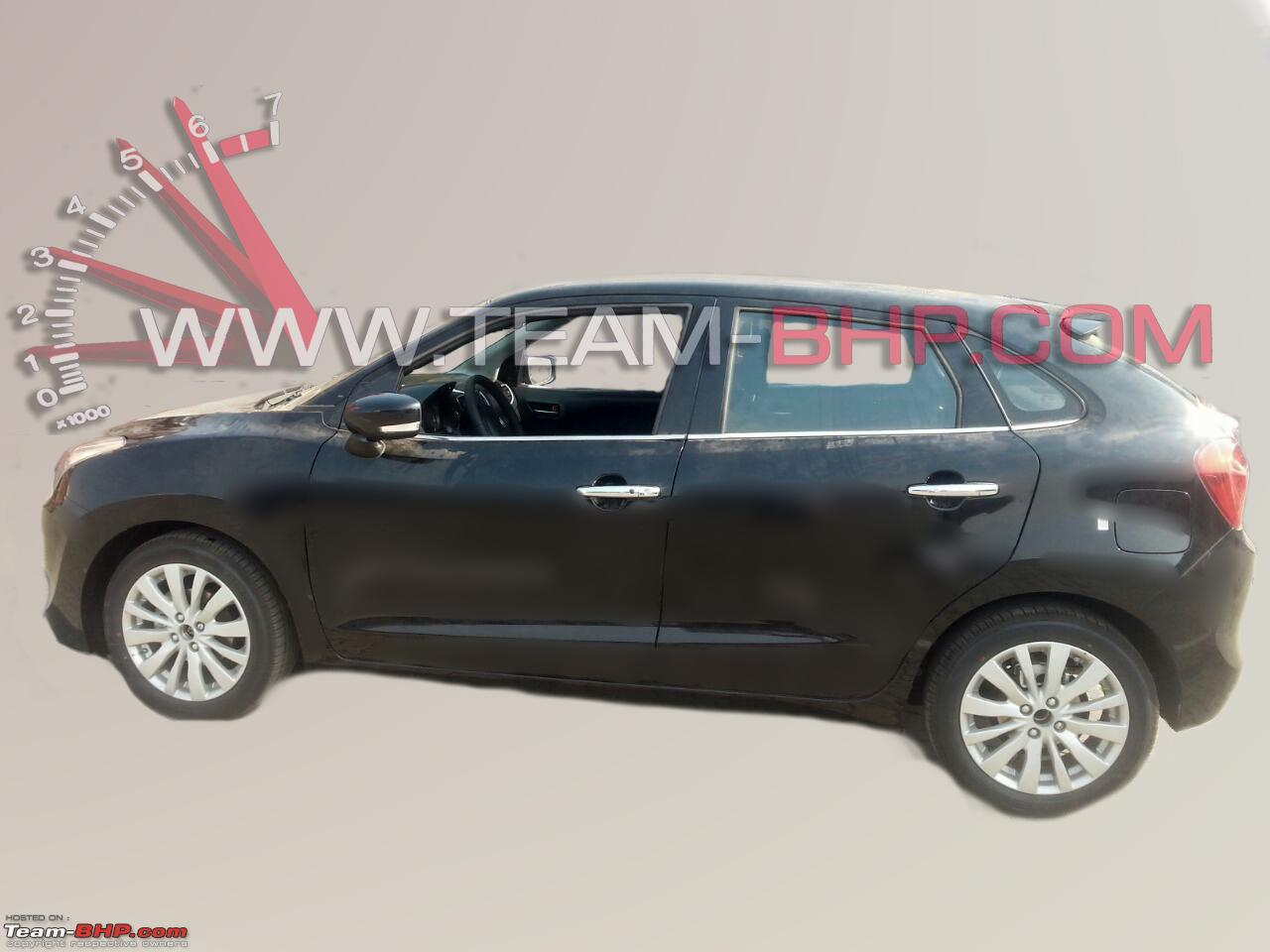 Maruti YRA side fully exposed