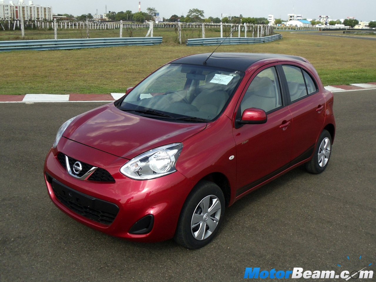 Nissan Micra X-Shift front quarter