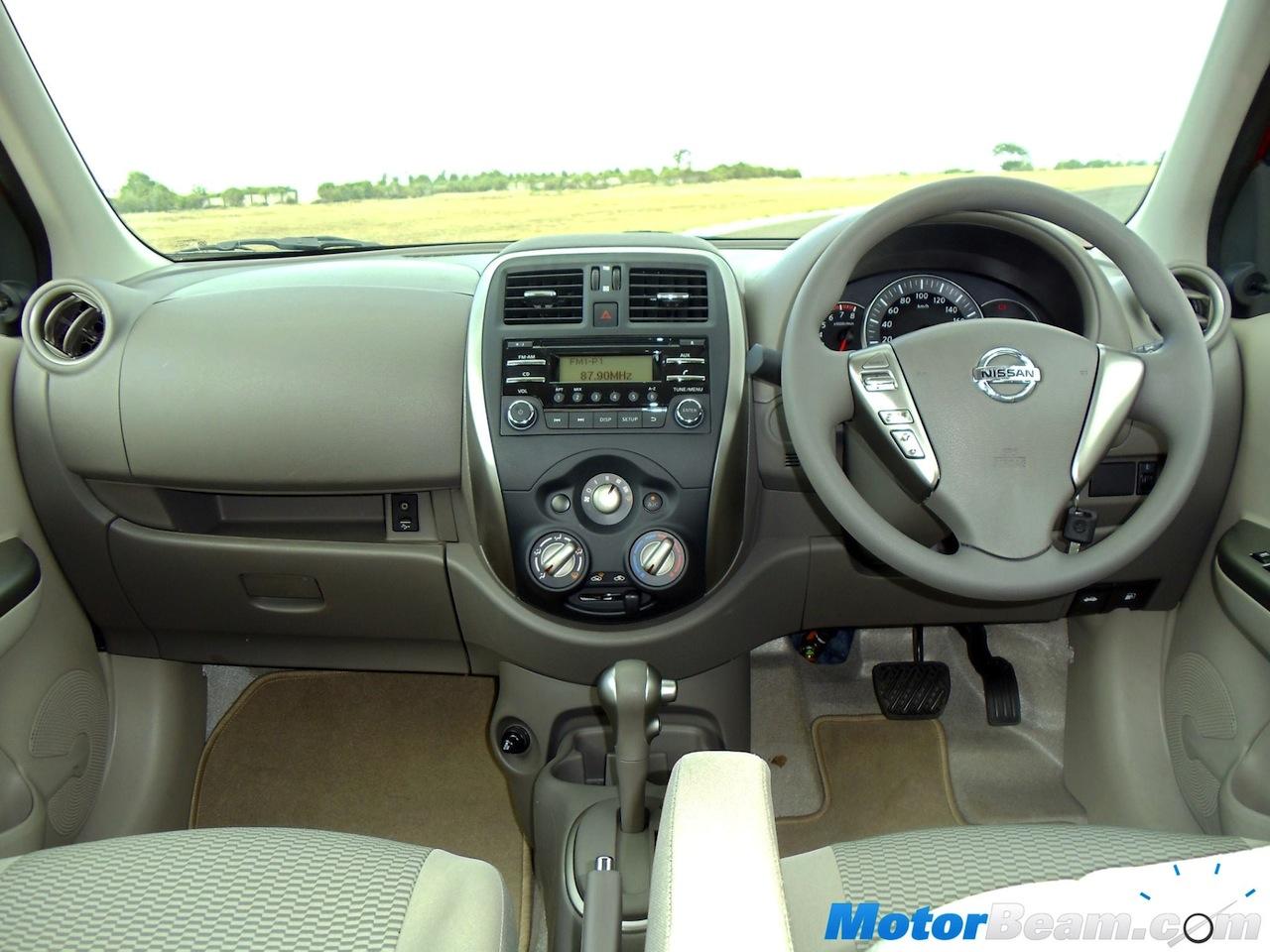 Nissan Micra X-Shift interior