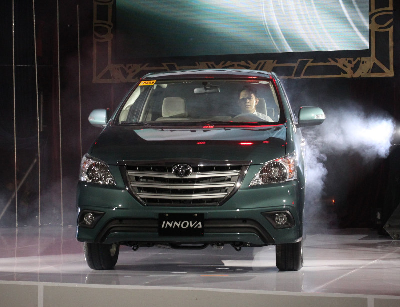Toyota Innova 1 million sales edition front launched in Philippines