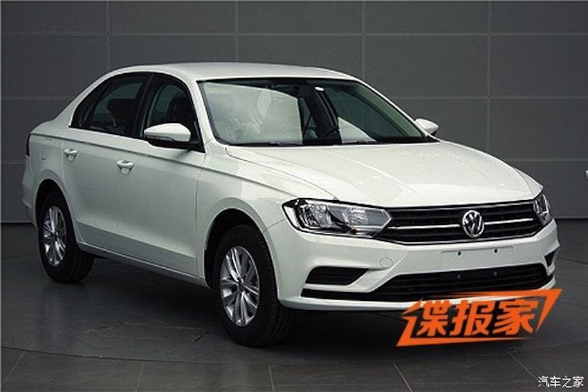 2015 VW Bora front spyshot
