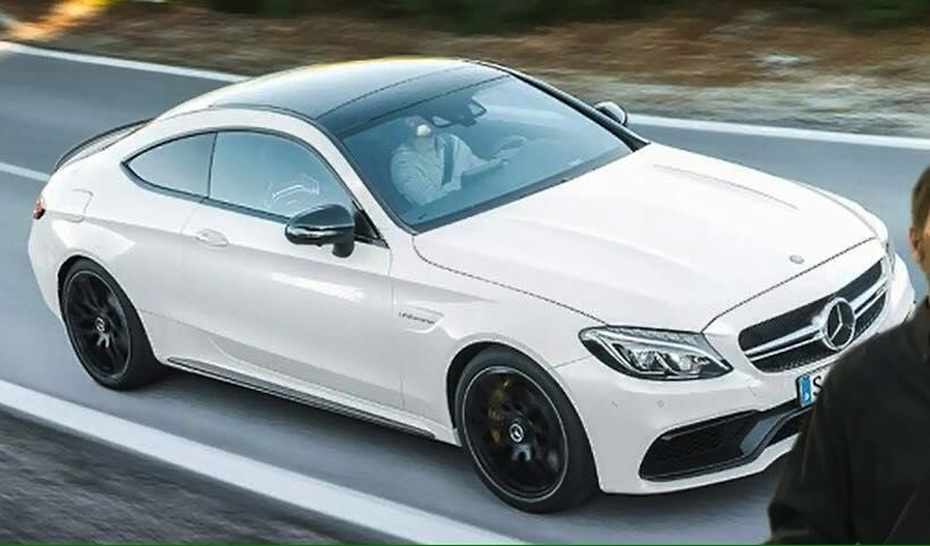 2016 Mercedes-AMG C63 S Coupe front leaked