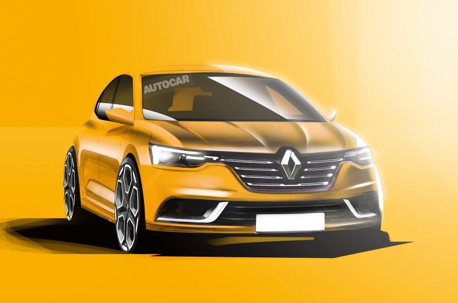 2016 Renault Megane front three quarter rendering