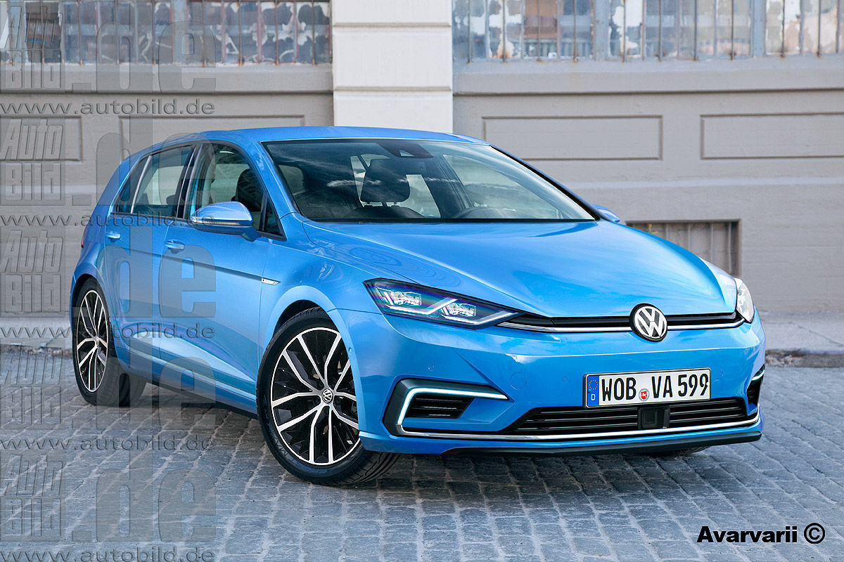 2019 vw golf to grow in size for better interior space