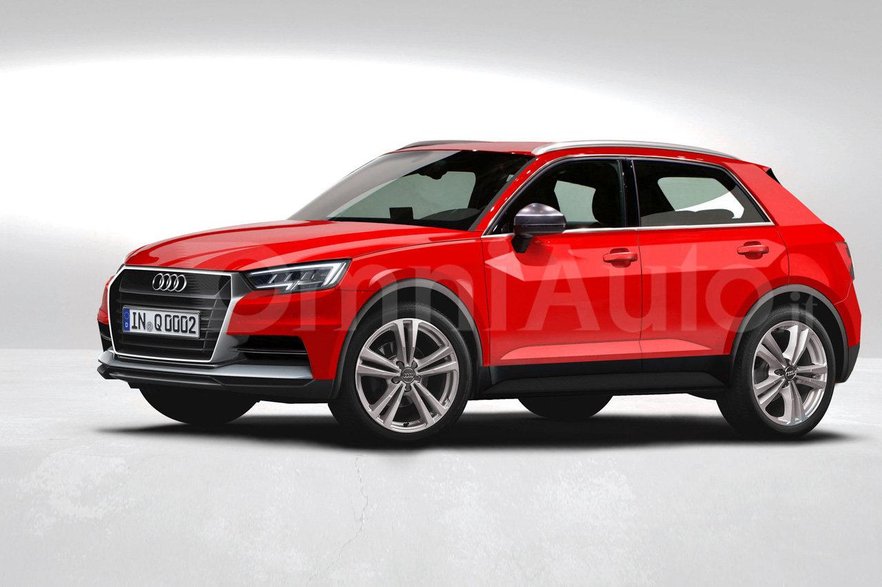 Audi Q1 Suv Rendering