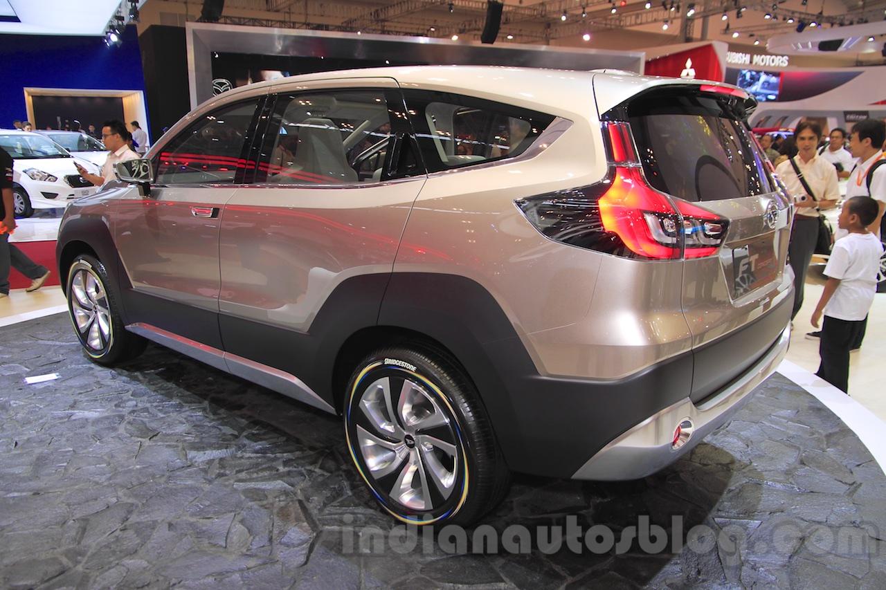 Daihatsu FT Concept rear three quarter at the 2015 Gaikindo Indonesia International Auto Show (GIIAS 2015)