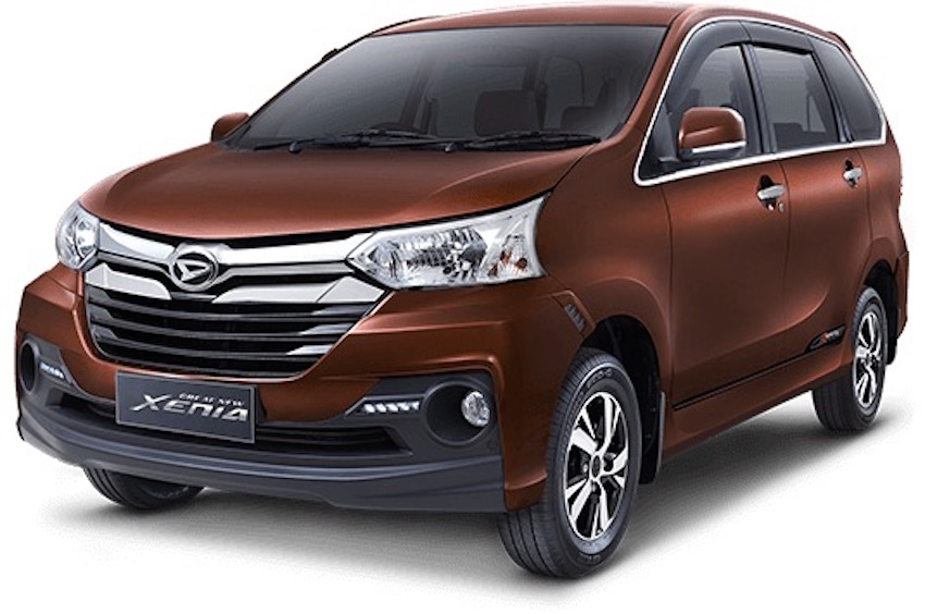 Daihatsu Great New Xenia front three quarter press image