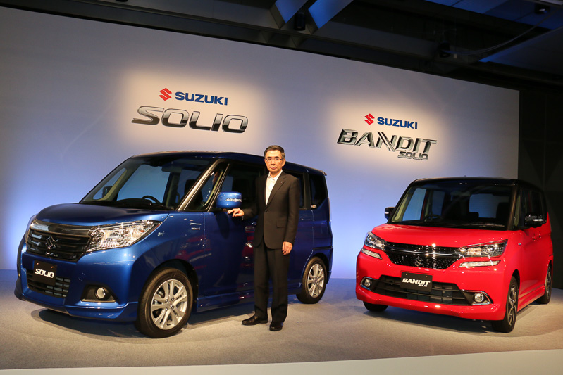 Suzuki Solio and Suzuki Solio Bandit launched in Japan