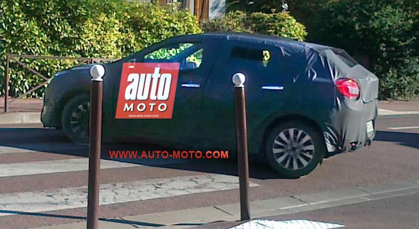 Suzuki YRA (Maruti YRA) rear three quarter spotted in France