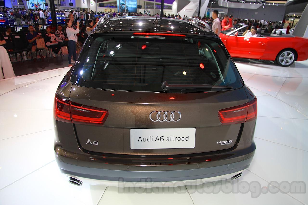 2015 Audi A6 Allroad Quattro rear at the 2015 Chengdu Motor Show