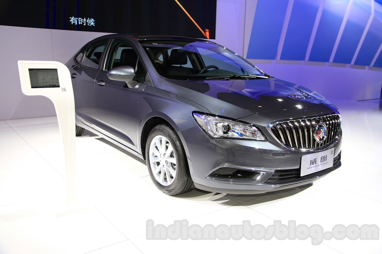 2015 Buick Verano front quarter at the 2015 Chengdu Motor Show