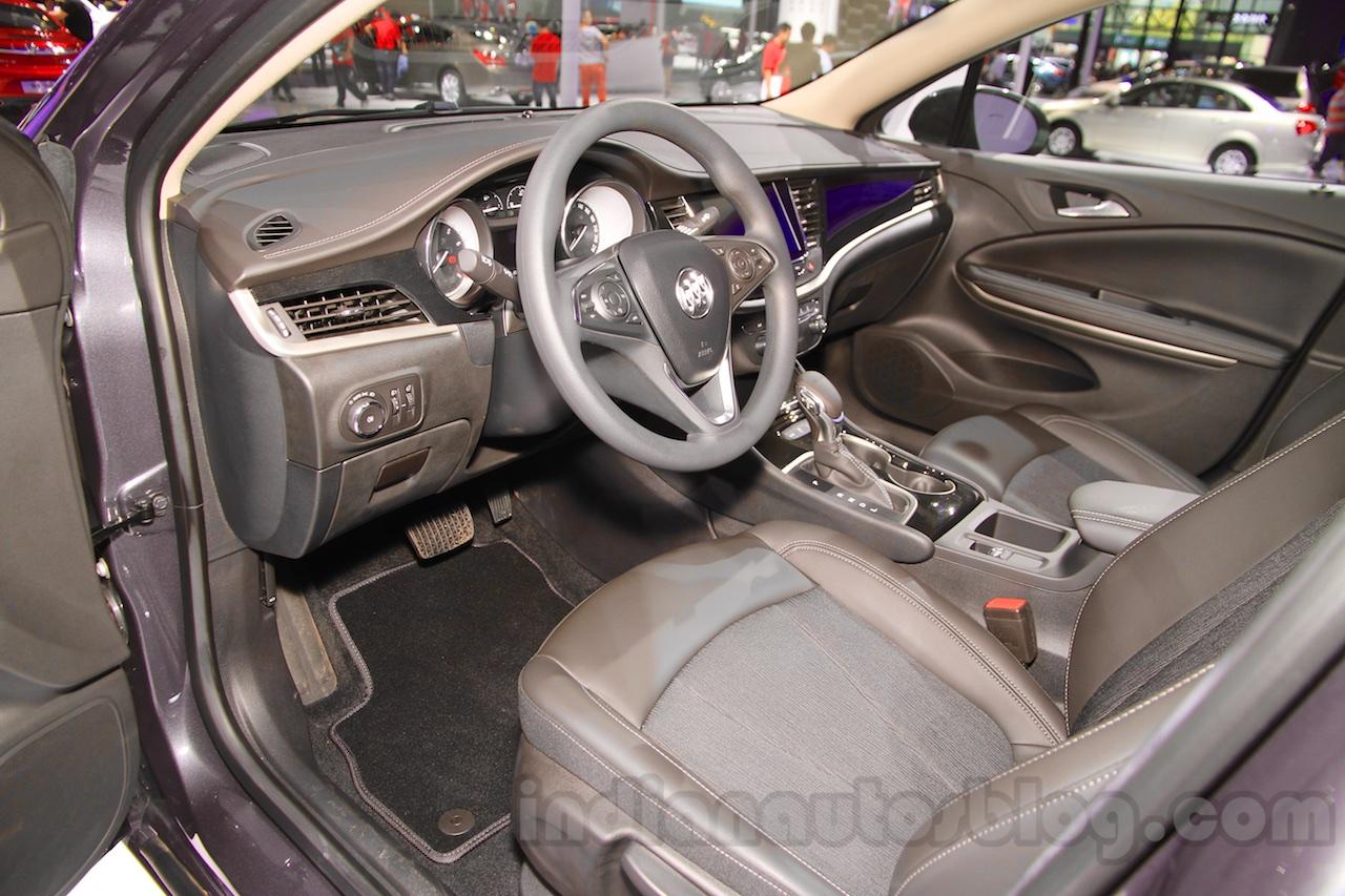 2015 Buick Verano interior at the 2015 Chengdu Motor Show