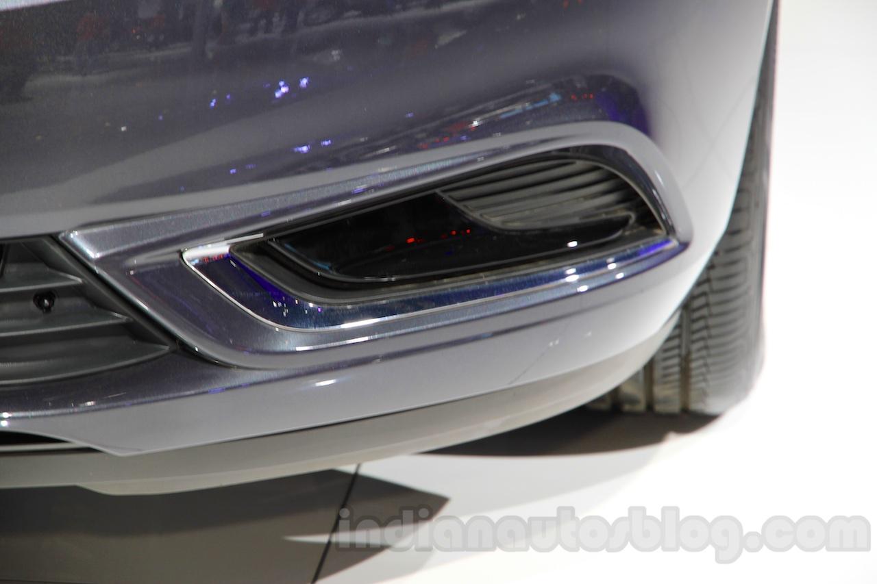 2015 Buick Verano lower fascia at the 2015 Chengdu Motor Show