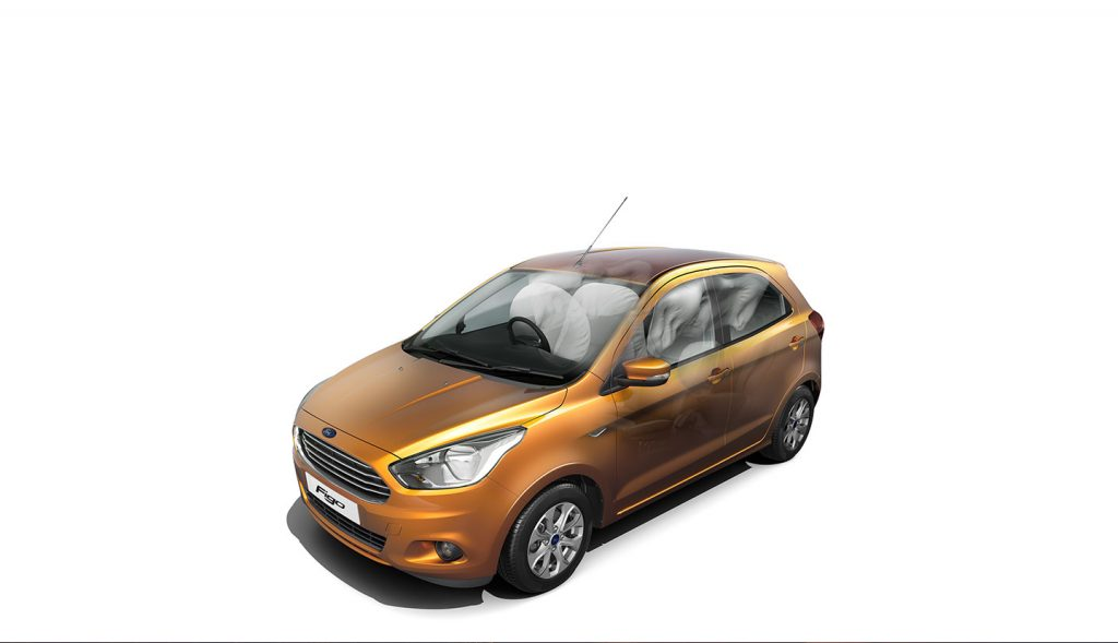 2015 Ford Figo airbags press shots