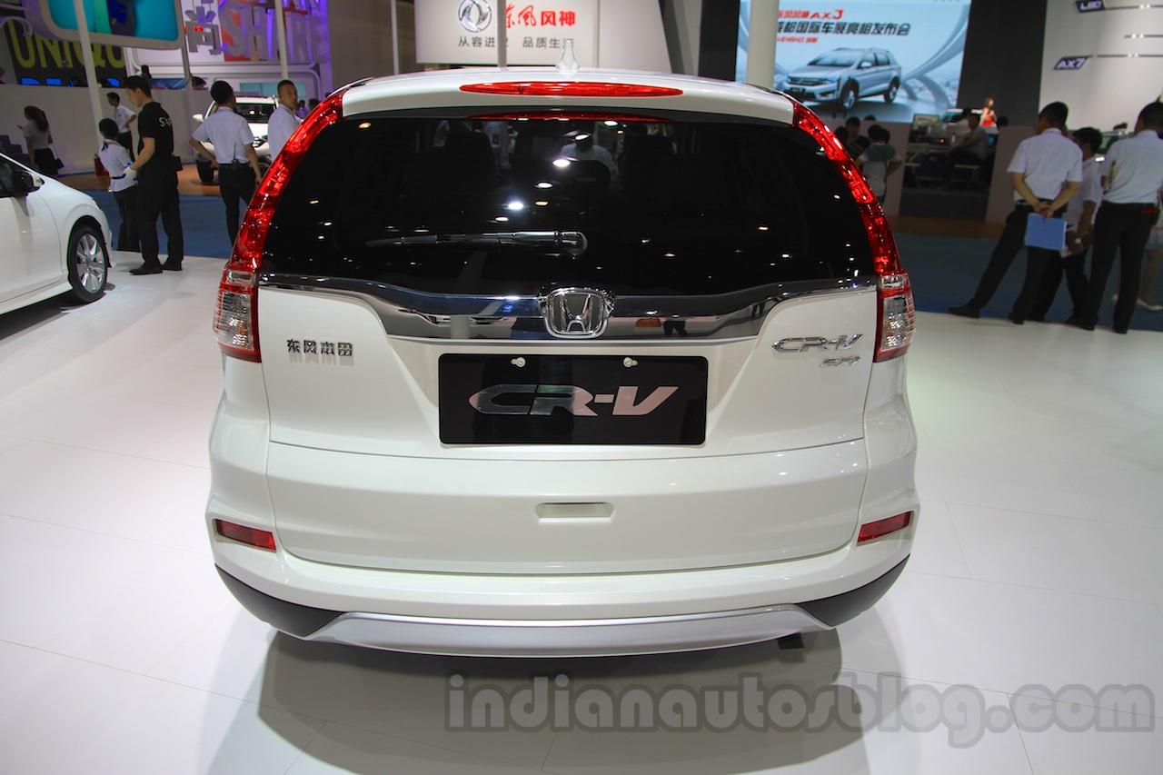2015 Honda CR-V facelift rear at the 2015 Chengdu Motor Show