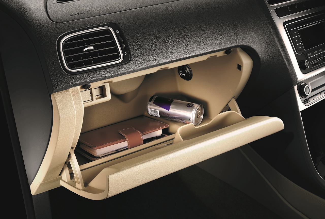 2015 VW Polo India chilled glovebox
