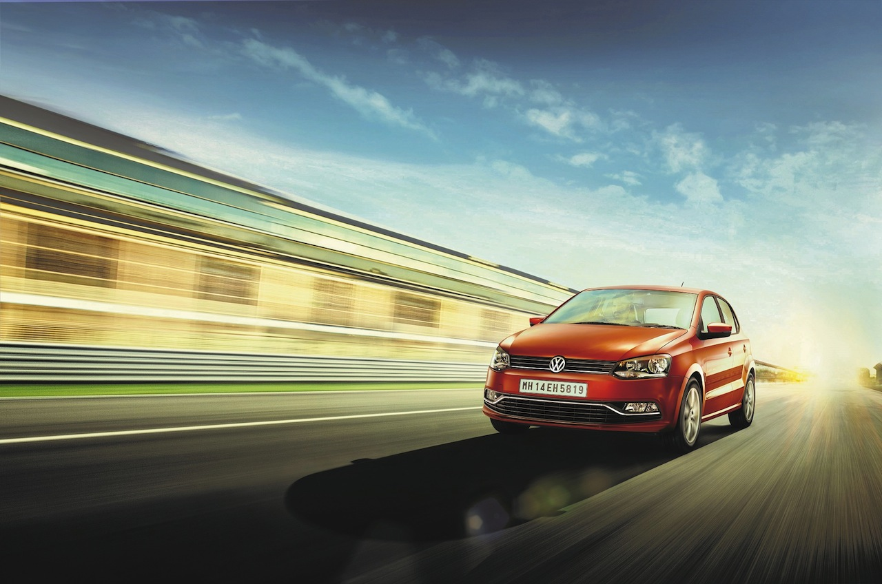 2015 VW Polo India front quarter