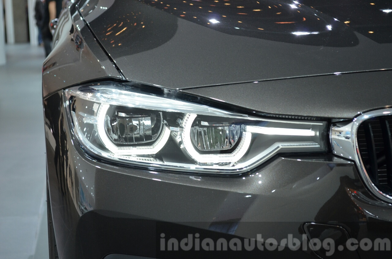 2016 bmw 3 series facelift headlamp at the iaa 2015. Black Bedroom Furniture Sets. Home Design Ideas