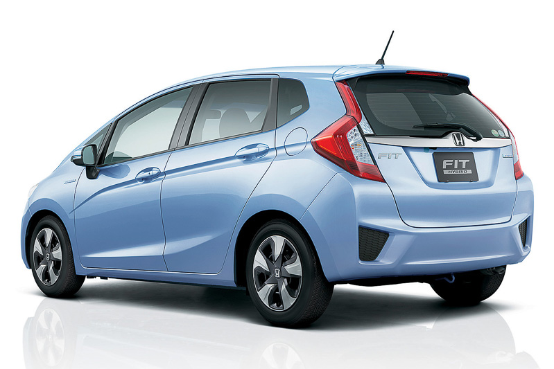 2016 Honda Fit Honda Jazz Rear Three Quarter Light Blue Unveiled