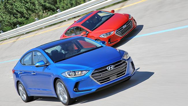 2016 Hyundai Elantra press shots