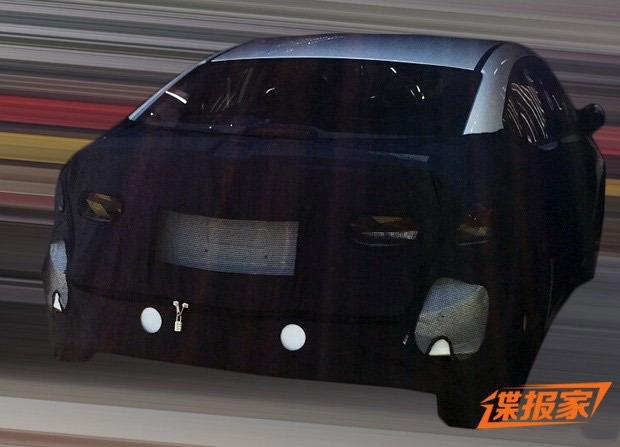 2016 Hyundai Elantra rear spied in China