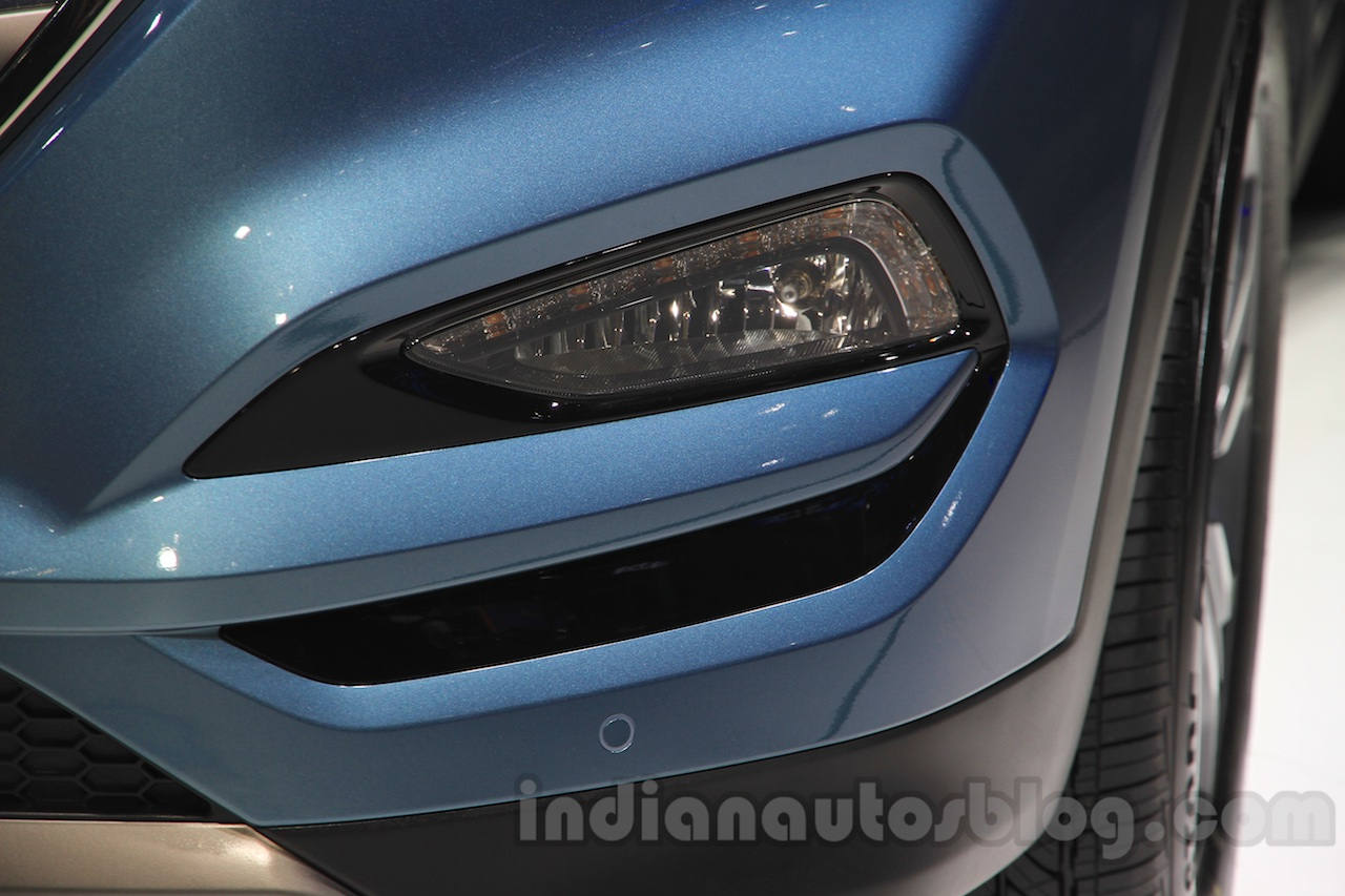 2016 Hyundai Tucson foglight at the 2015 Chengdu Motor Show