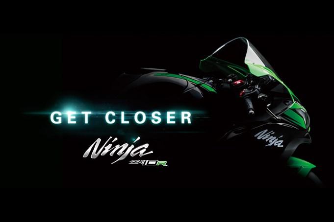 Teaser of the 2016 Kawasaki Ninja ZX-10R