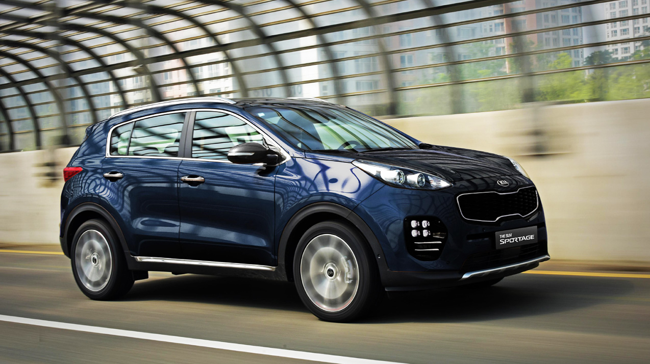 2016 kia sportage launched in korea in four variants