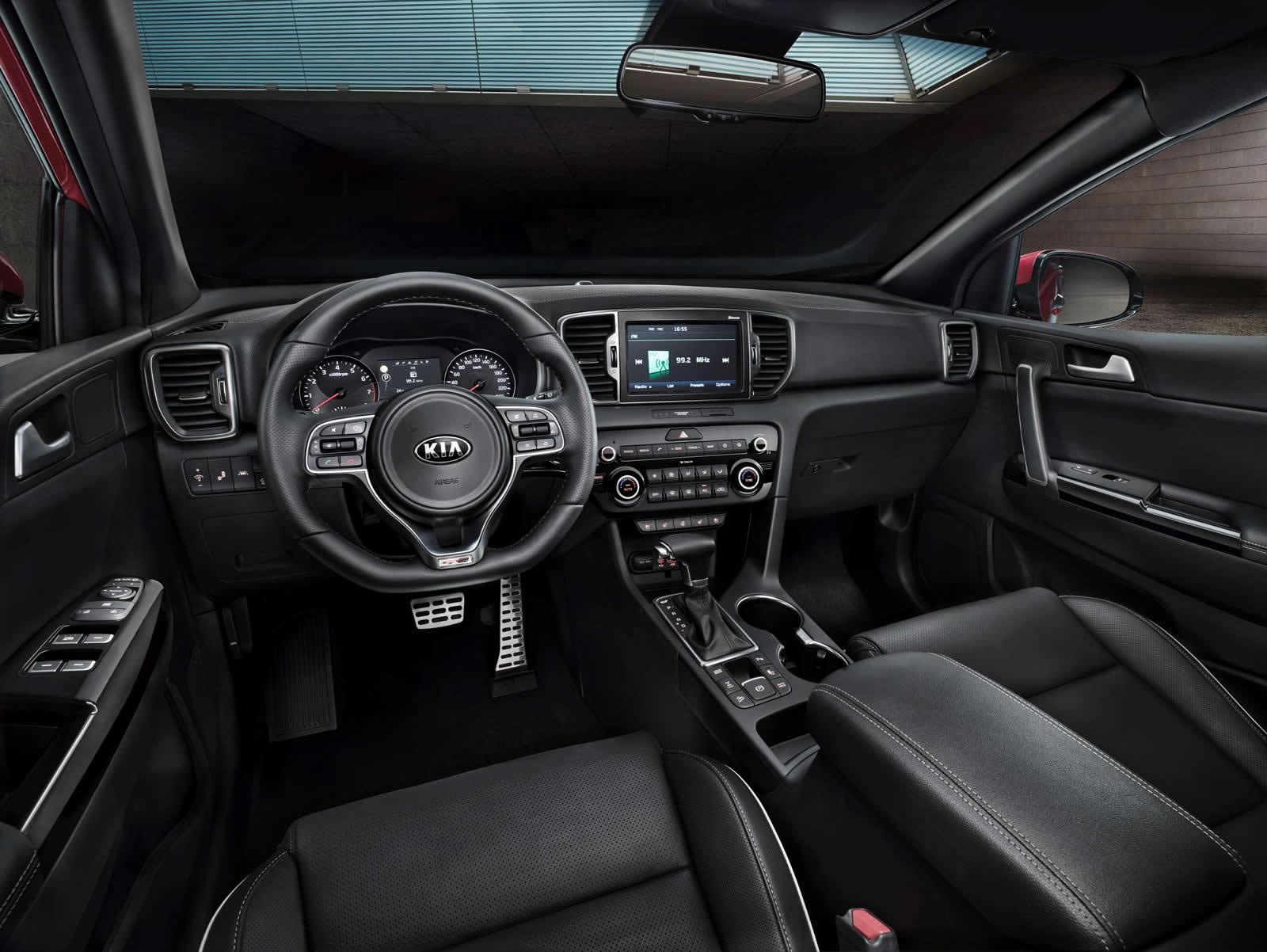2016 Kia Sportage interior press shots