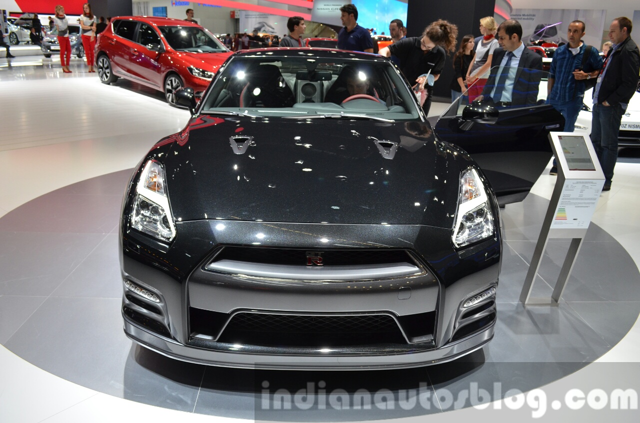 2016 nissan gt r track edition front at the iaa 2015. Black Bedroom Furniture Sets. Home Design Ideas