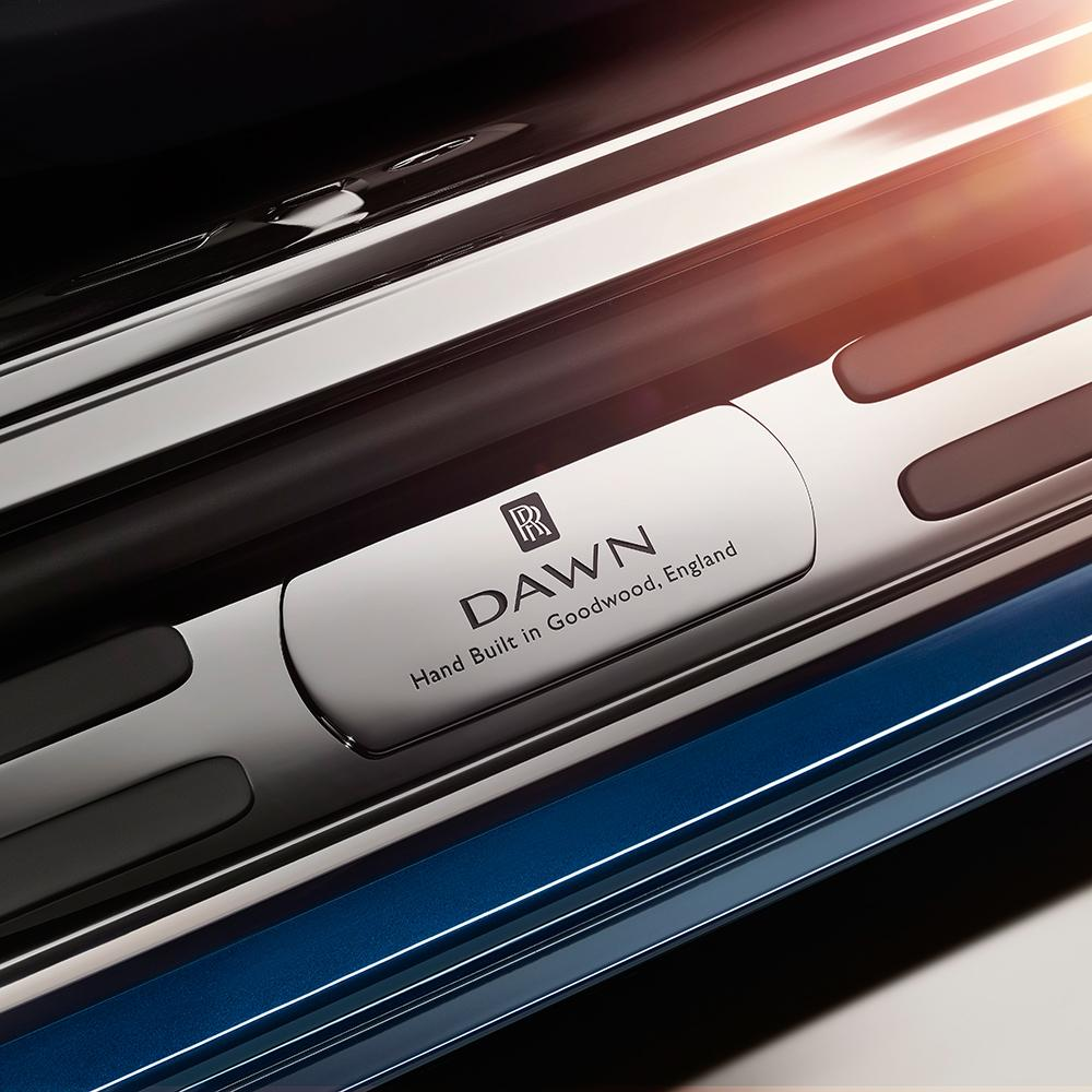 2016 Rolls-Royce Dawn teaser door sill