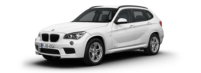 BMW X1 M Sport white front three quarter launched in India