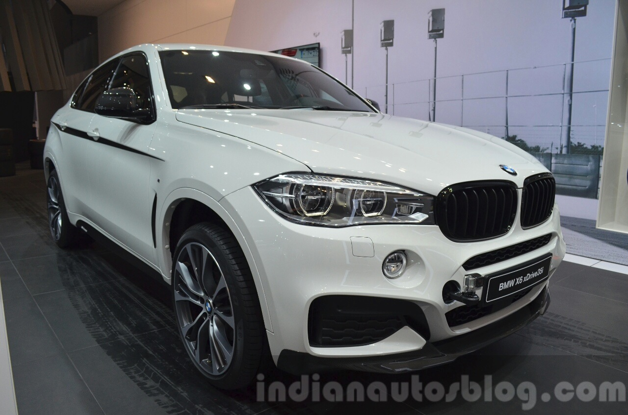 Bmw X6 With M Performance Parts Front Three Quarters At