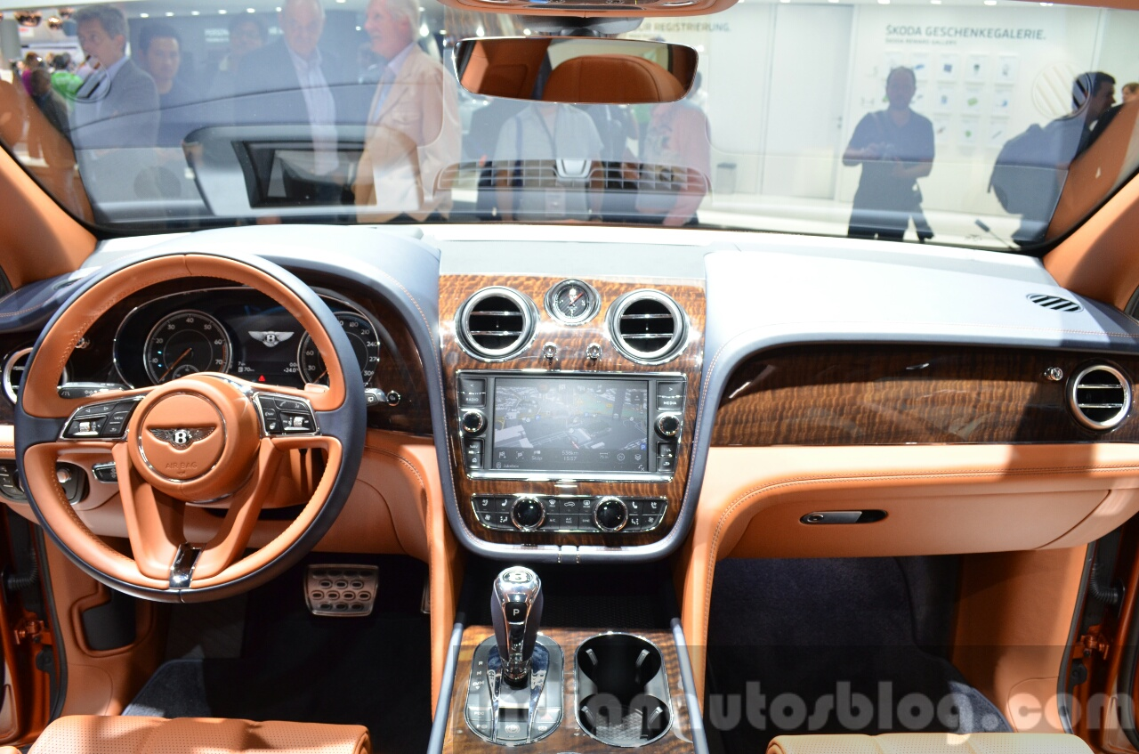 Bentley Bentayga Launched In India At Inr 3 85 Crores