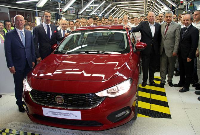 Fiat Egea front quarter production commences in Turkey