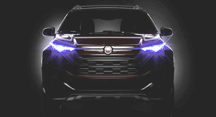 Fiat Toro front teaser