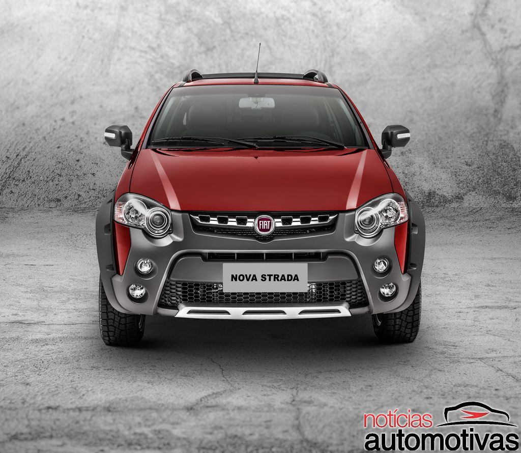Fiat strada adventure extreme front press