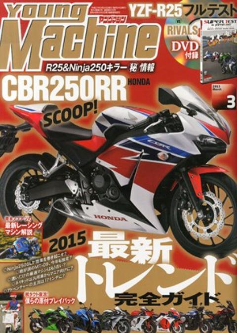 Honda CBR250RR rendering by YMM