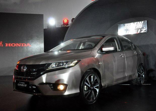 Honda Greiz unveiled