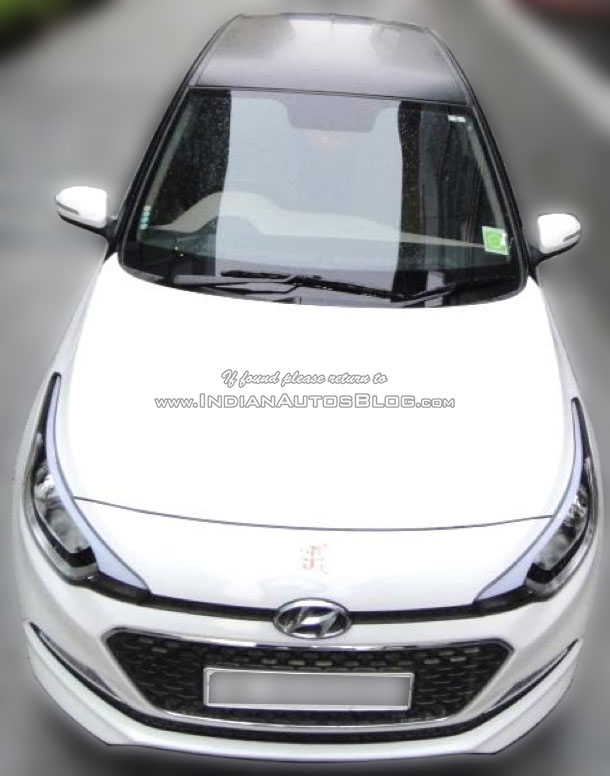 Hyundai Elite i20 Celebration Edition front