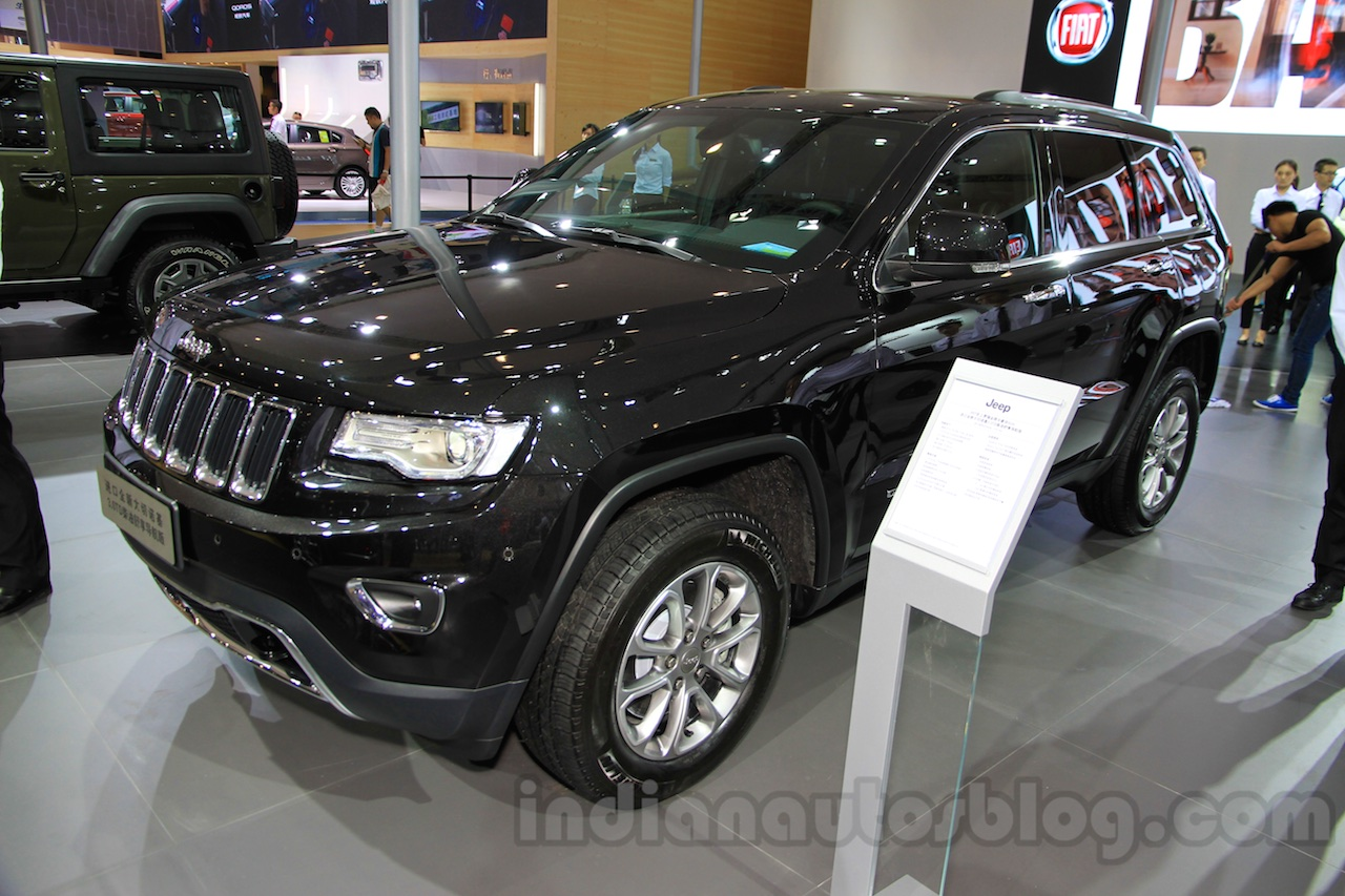 limited jeep grand cherokee 2015 chengdu motor show. Black Bedroom Furniture Sets. Home Design Ideas