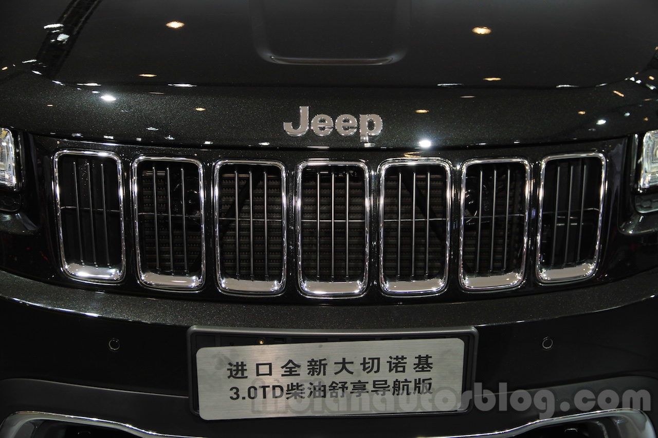 Jeep Grand Cherokee John Yiu limited-edition grille at the 2015 Chengdu Motor Show