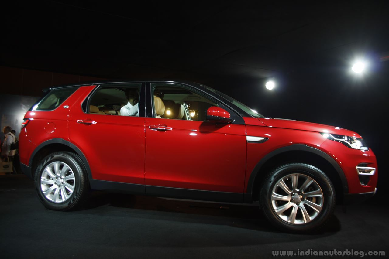 Land Rover Discovery Sport side Launch in Mumbai