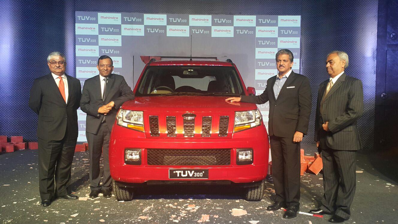 Mahindra TUV300 launched