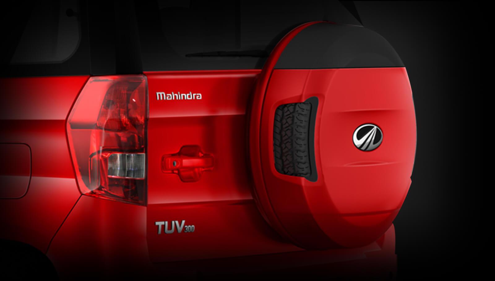 Mahindra TUV300 tailgate website image