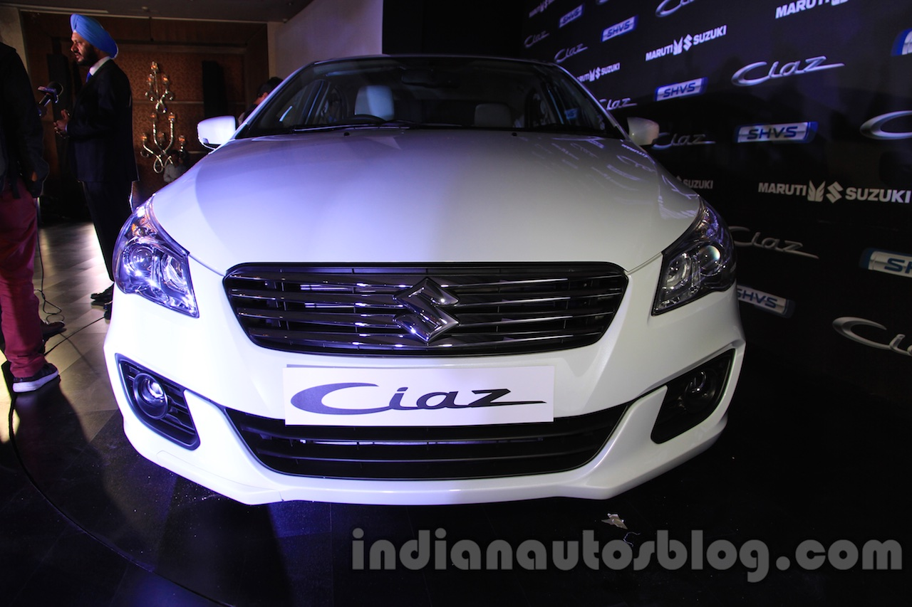 Maruti Ciaz SHVS front launched in Delhi